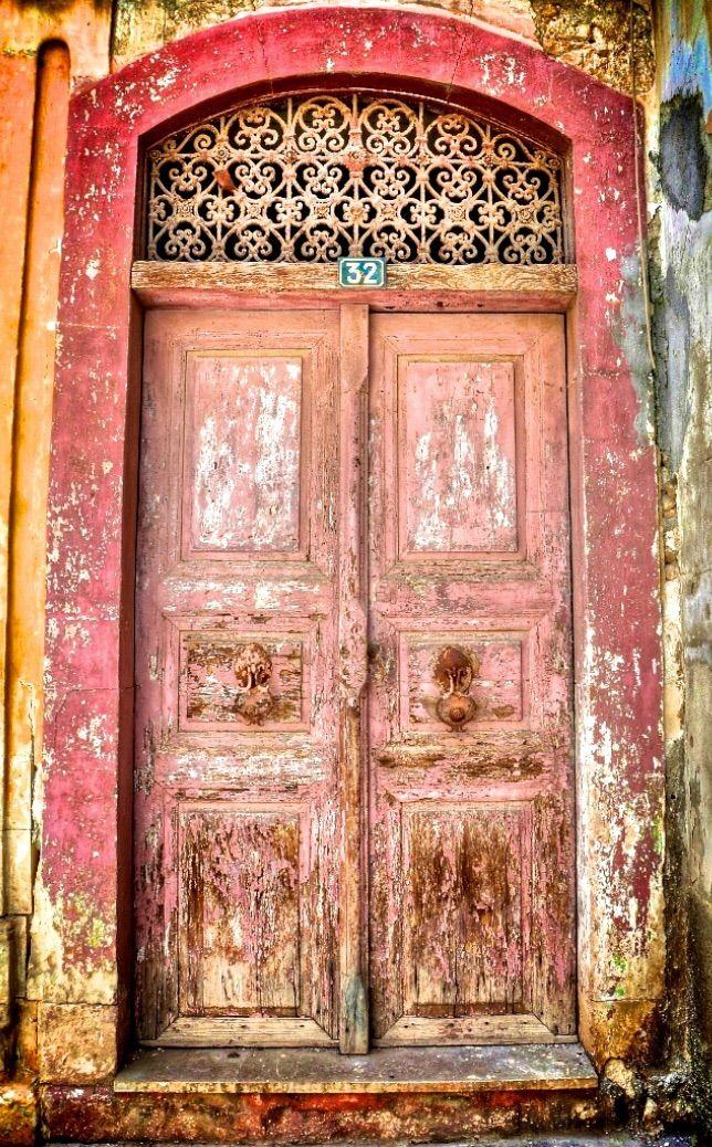 Luxury Yoga Retreats Crete Rustic Doors Old Door Old Doors