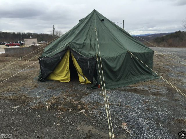 Outdoor Venture Corp 10 Man Arctic Tent NEW Military Surplus FREE SHIPPING & Outdoor Venture Corp 10 Man Arctic Tent NEW Military Surplus FREE ...