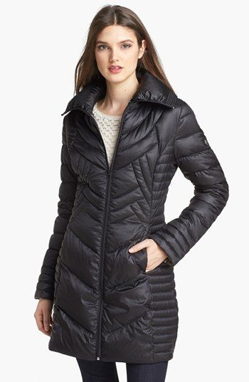 7dec327828f Bernardo Packable Goose Down Walking Coat. Picked up this coat today at  Nordstrom. Super light. Not bulky. Just what I needed for the 3-4 days we  get below ...
