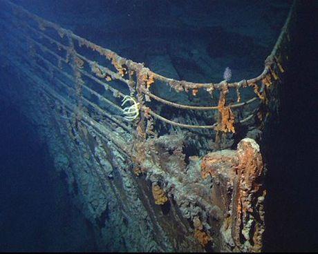 写真で見る海底の タイタニック号 悲劇から100年 タイタニック 難破船 船