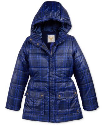 1e19aba8df1b Tommy Hilfiger Printed Hooded Puffer Jacket