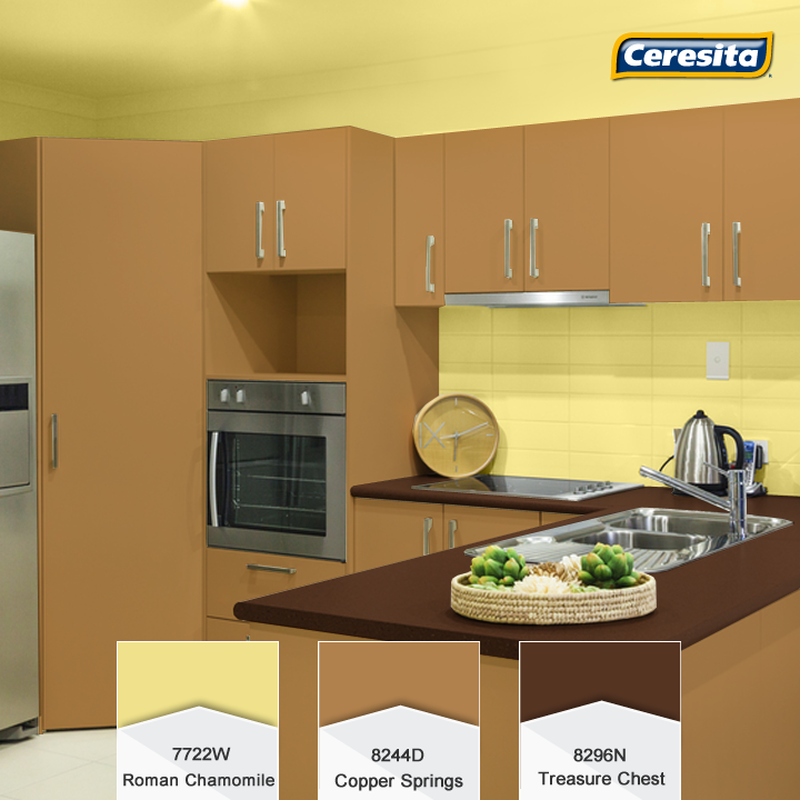 Cocina #color #decoración #ceresita #ceresitacl #pinturasceresita ...