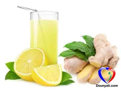 دنيتي فوائد عصير الليمون والزنجبيل الصحية Health Tips Health