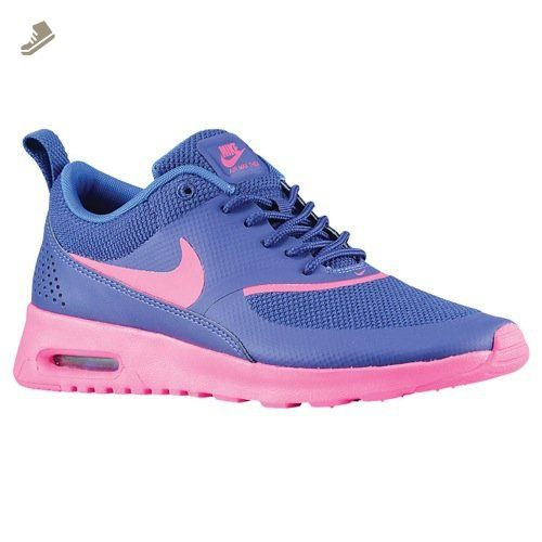 ce0119fb2a3e1f Nike Womens Air Max Thea Deep Royal Blue Hyper Cobalt Hyper Pink Sneaker 11  B Medium
