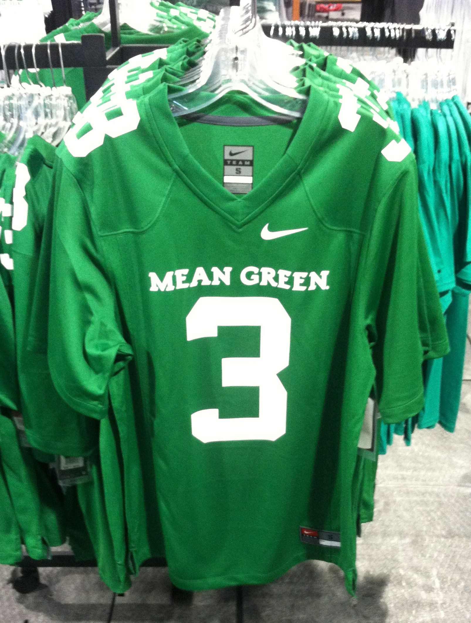 0165ec3242a7 Want a jersey just like the players  Go get your replica Nike North Texas  Mean Green jersey for  90.00 at the UNT Barnes and Noble bookstore white  tent