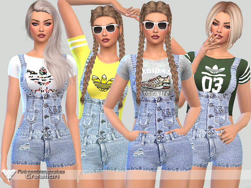 4345bad3a Available in 10 styles and colors Found in TSR Category  Sims 4 ...
