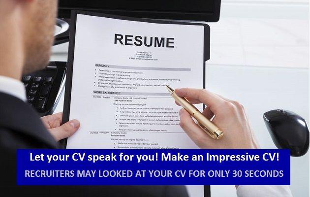 Professional resume writing services dubai
