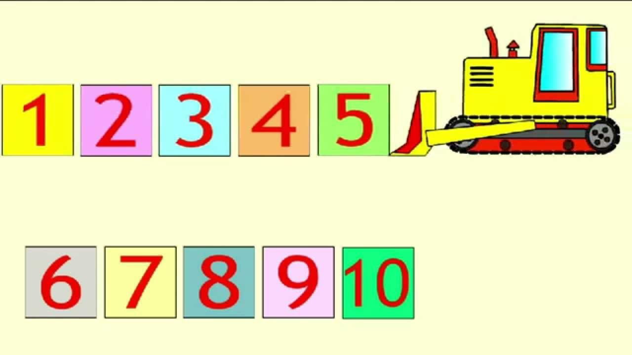 Развивающий мультфильм - Учим цифры. Мультик для детей от ...