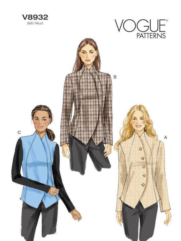 Vogue Pattern V8932 Jacket | Costura