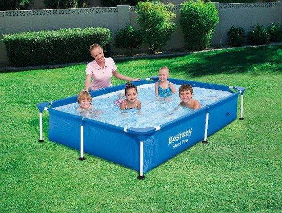 Bestway My First Frame Pool Zwembad 221 X 150 X 43 Cm
