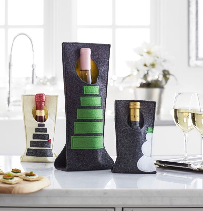 Makers Guide: 3 Geo Wine Totes