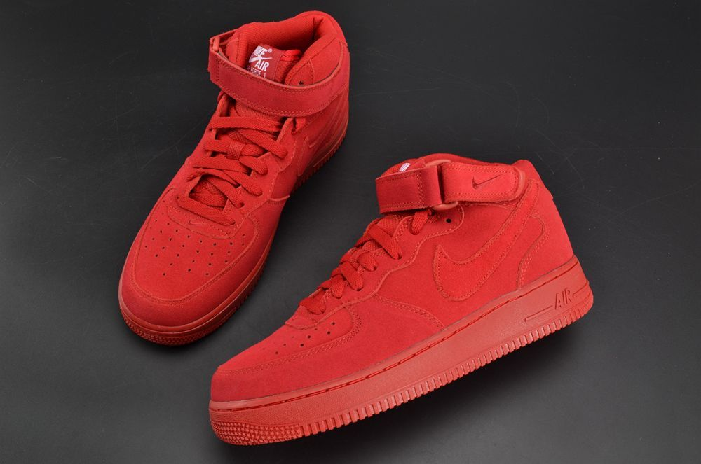 779560cc2b800 NIKE AIR FORCE 1 MID 07 GYM RED OCTOBER 315123 609 | NIKE AIR FORCE ...