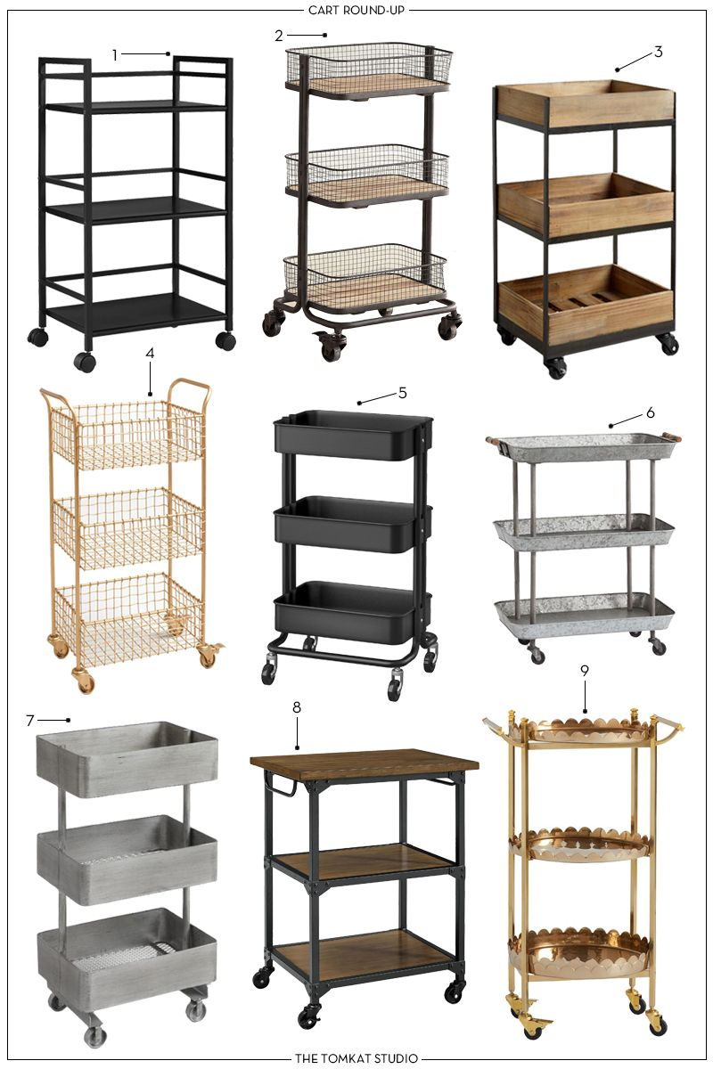 Our 9 Favorite Carts that Aren't Bar Carts | The T