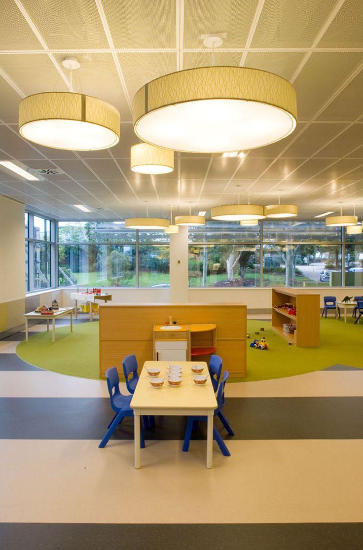 Large Drum Lights Instead Of Traditional Flourecent Lighting Daycare Pinterest Childcare