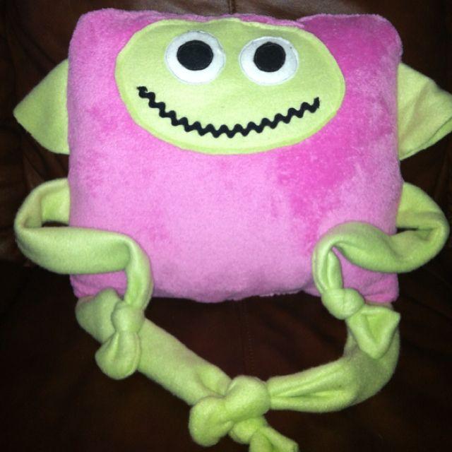 Monster Pillow I made Macy