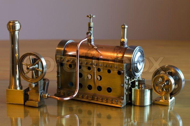 Steampunk Steam Engine Steam engine, Steam engine model