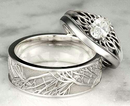 Unique Wedding Rings Unique Wedding Bands For Men Women