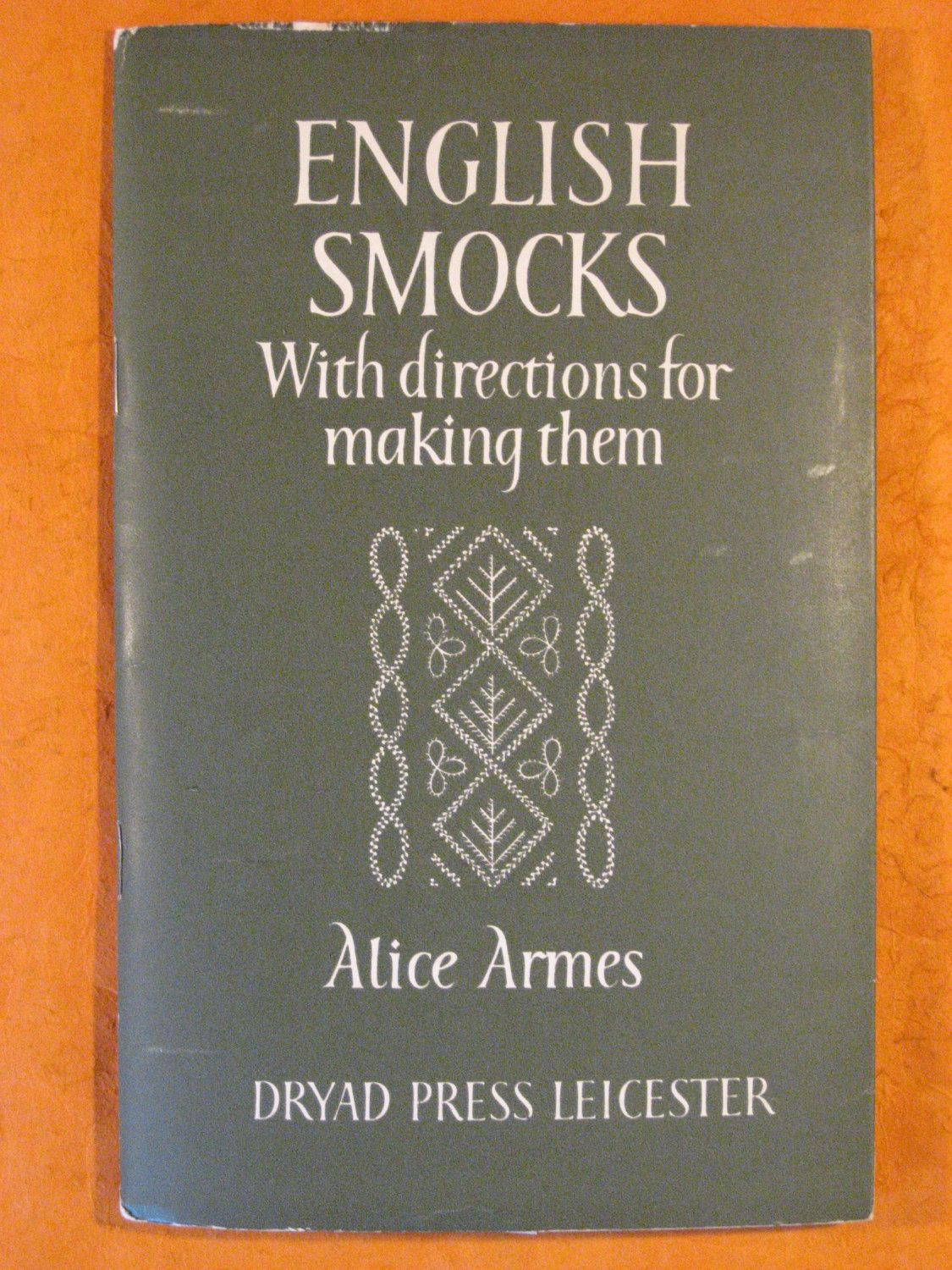 English Smocks with Directions for Making Them by Alice Armes by Pistilbooks on Etsy