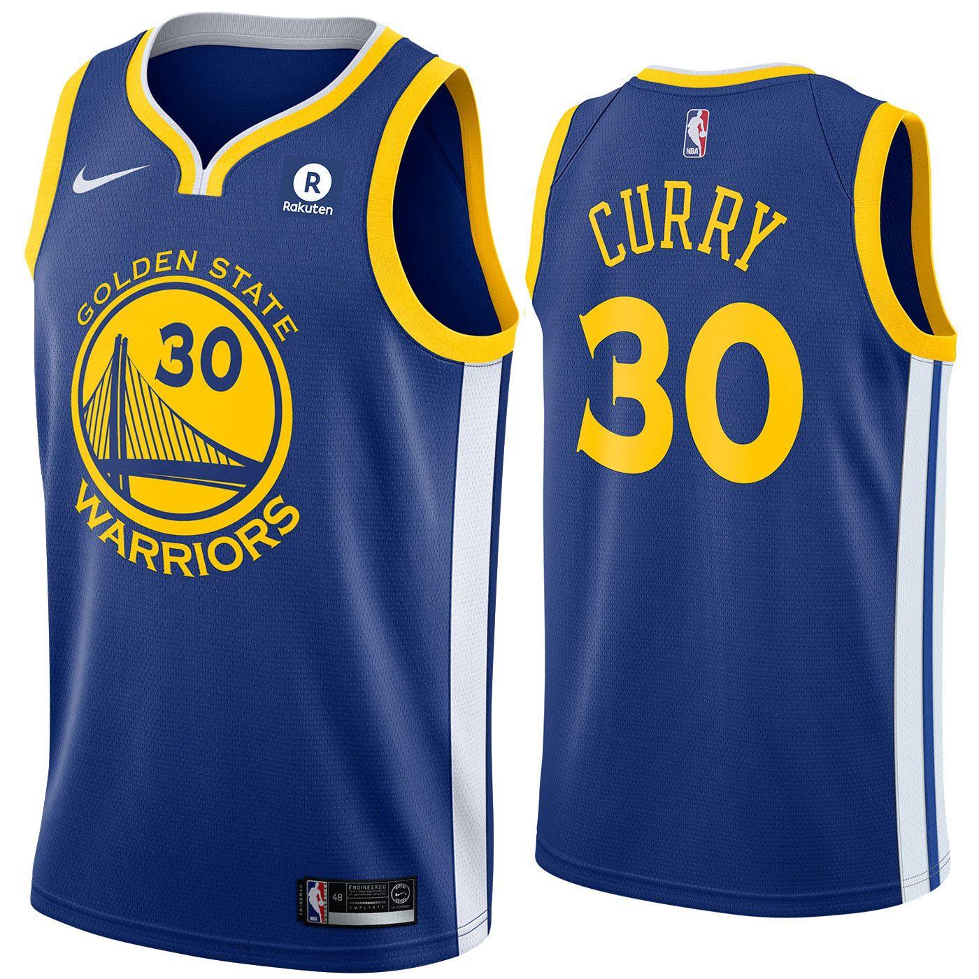 9ae02848 Golden State Warriors Nike Dri-FIT Men's Stephen Curry #30 Swingman Icon  Jersey - Royal