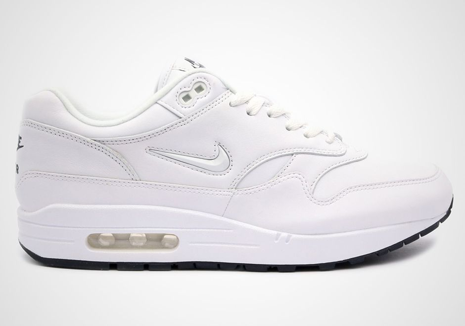 huge sale ab0a6 ac7b7 This Nike Air Max 1 Comes With White Jewel Swooshes