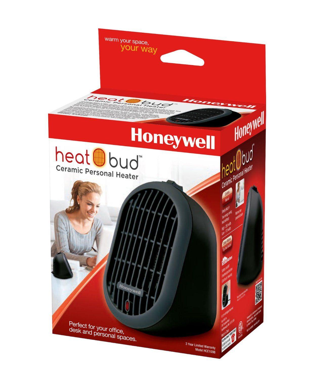 Honeywell Heat Bud Ceramic PortableMini Heater, HCE100