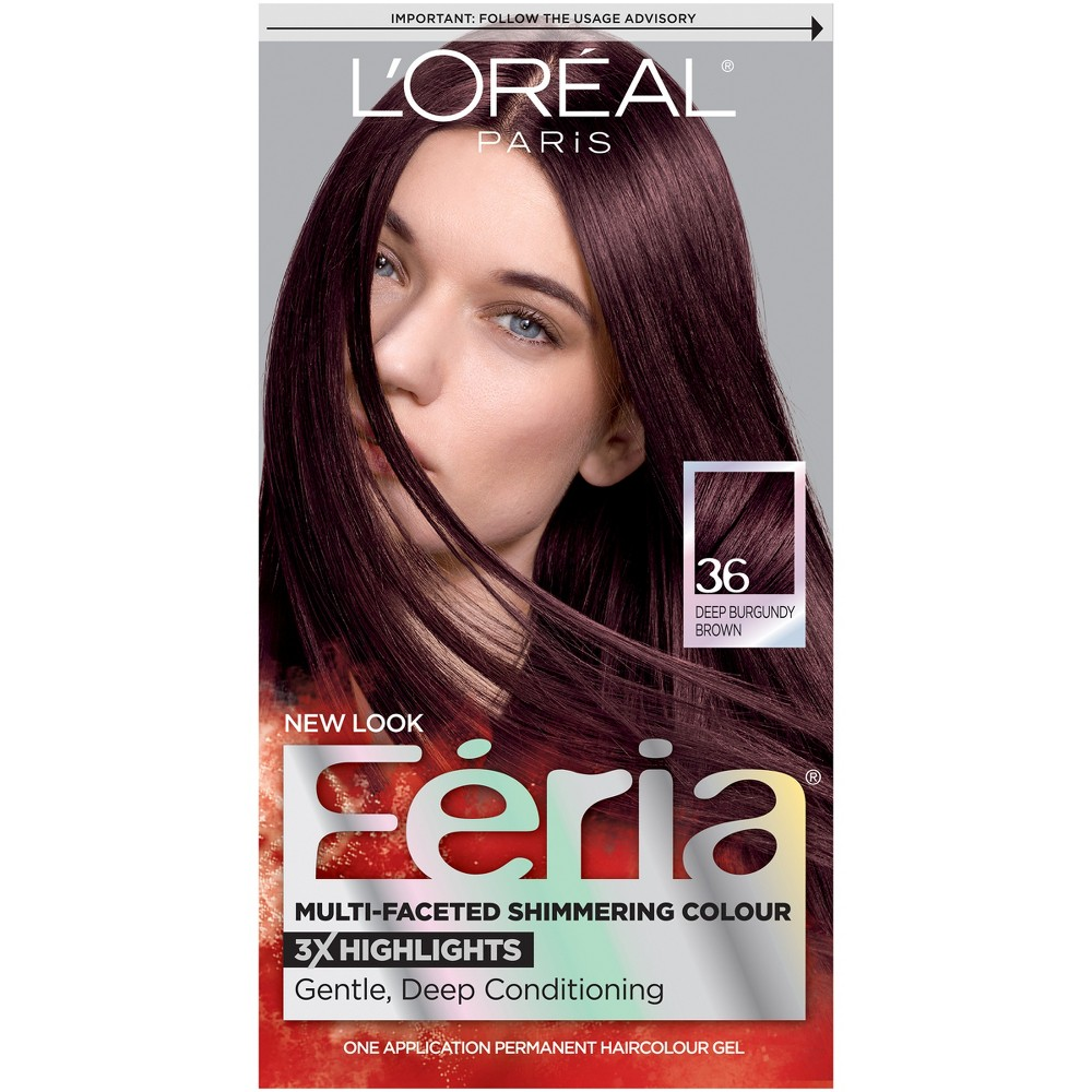 Loreal paris feria multi faceted shimmering color 36 dark loreal paris feria multi faceted shimmering color 36 dark burgundy brown nvjuhfo Image collections