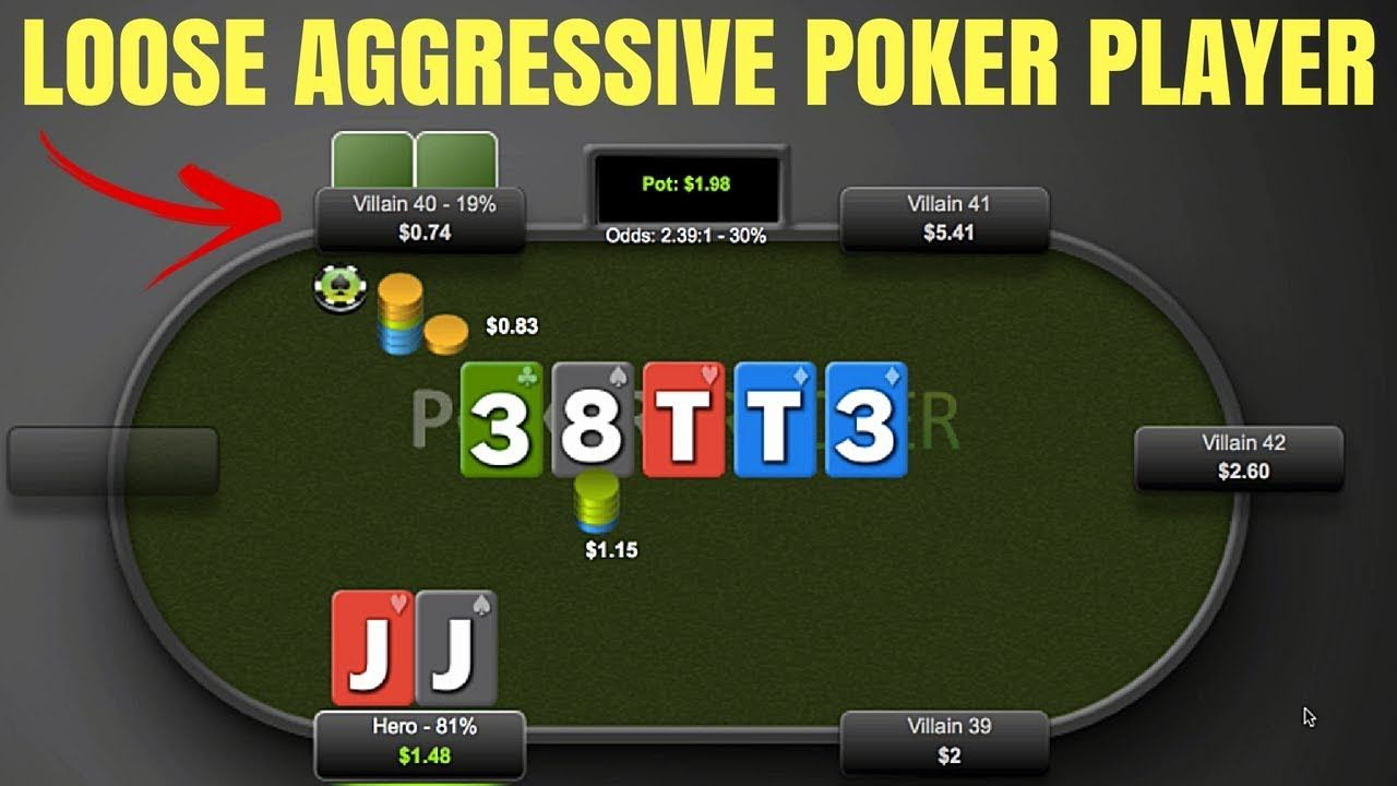 How to beat a loose aggressive poker player perfectly