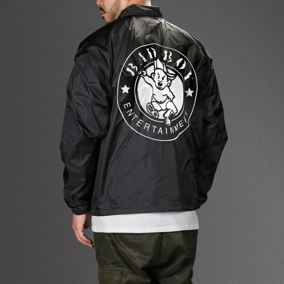 Puff Daddy Bad Boy Records Coaches Jacket