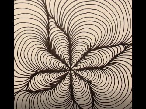 6 Optical Illusion Drawing Techniques Patterns Youtube