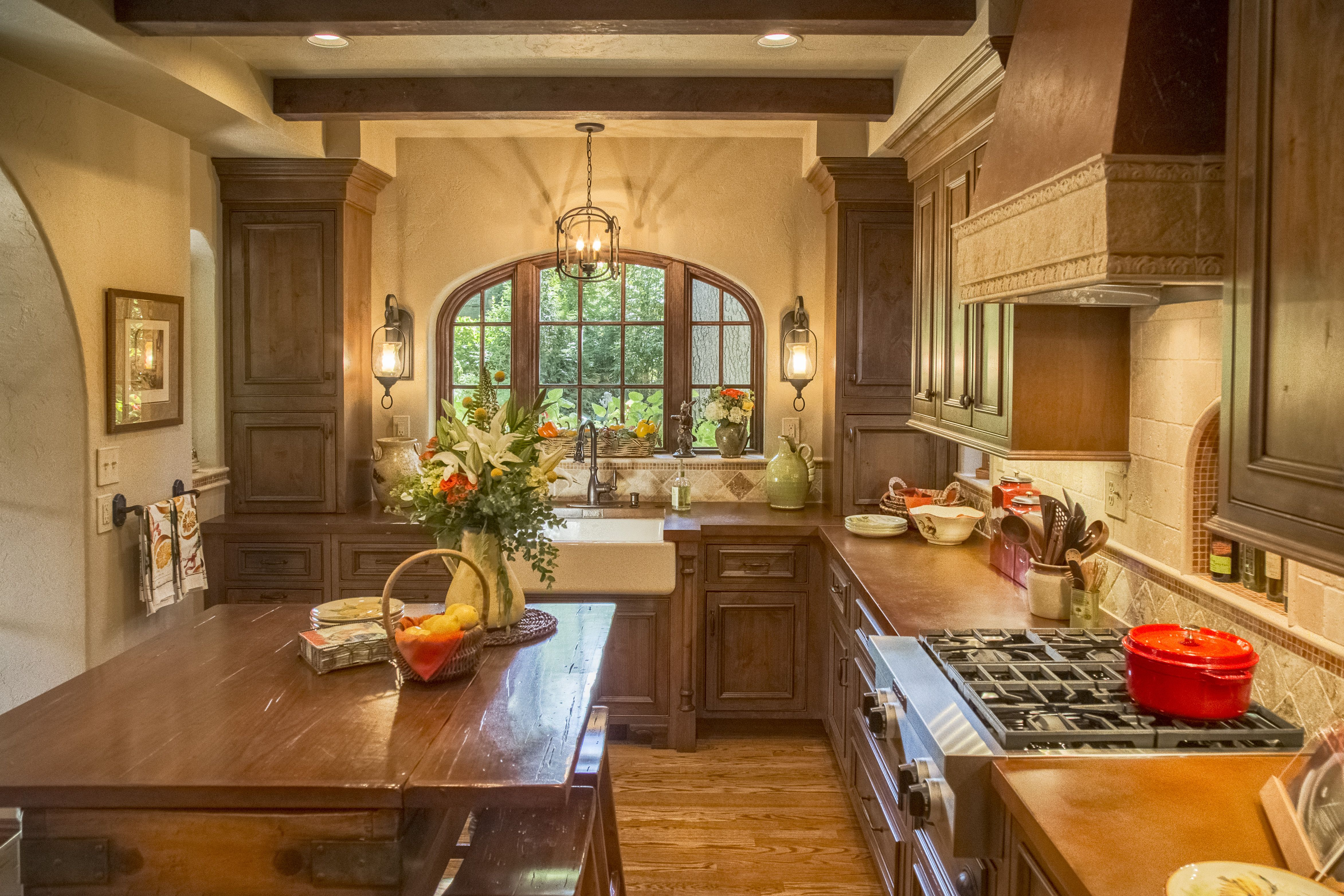 The Homeowners Wanted To Embrace The Old World Feel Of
