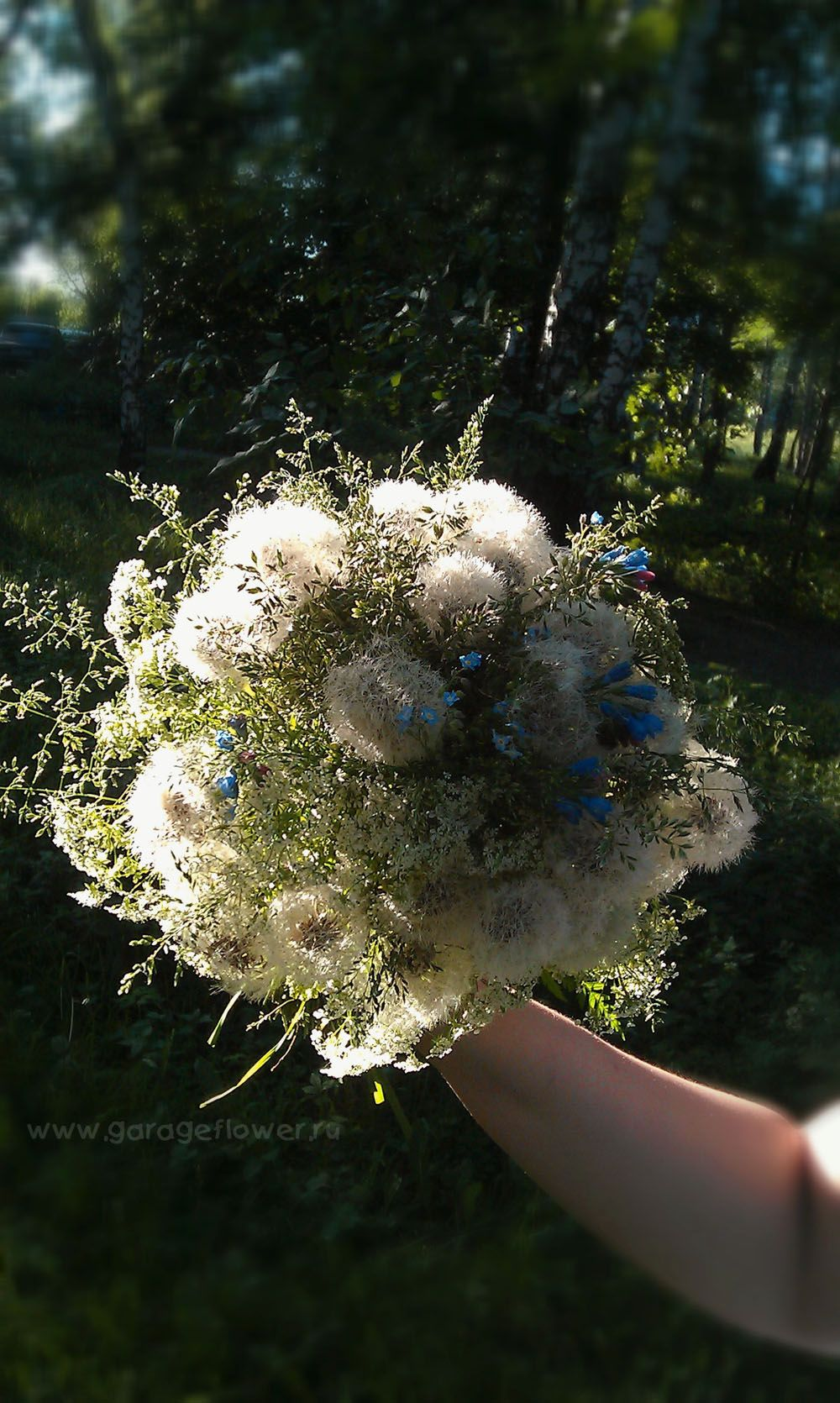 Awesome Almost Makes We Want To Get Married Again Almost Dandelion Flower Bouquet Wedding Wildflower Bouquet