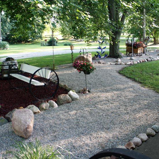 Stone Garden Farms The debate pea stone vs mulch country moon blog grit magazine gardens workwithnaturefo