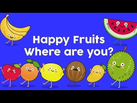 Fruits Song | Happy Fruits Learning Song - YouTube | fruits
