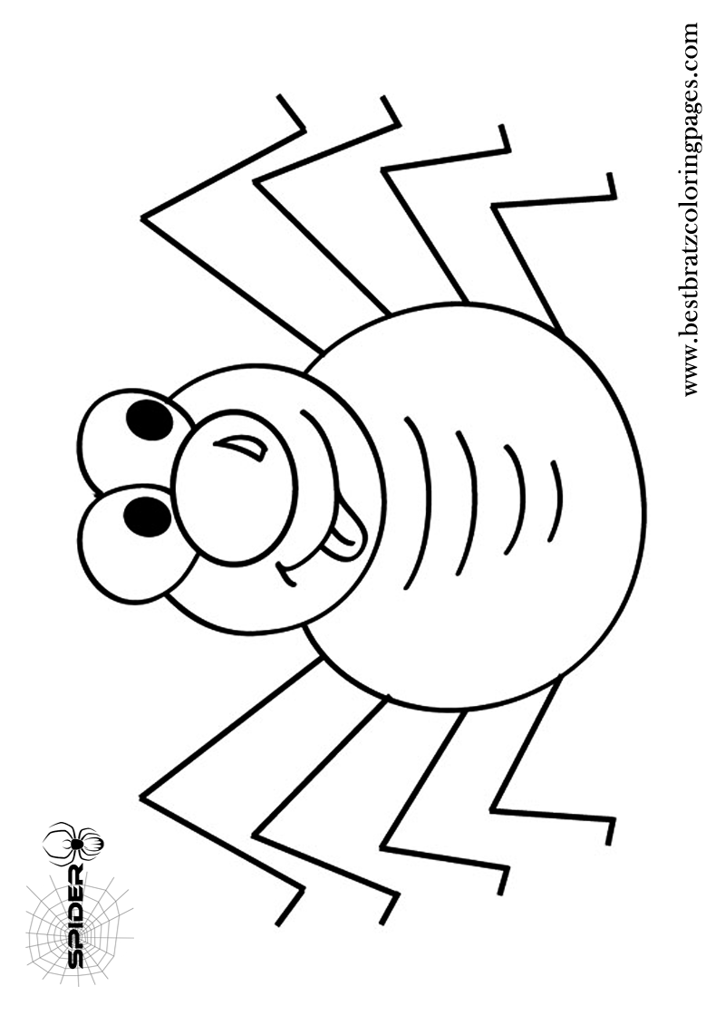 Free printable spider coloring pages for kids coloring pinterest