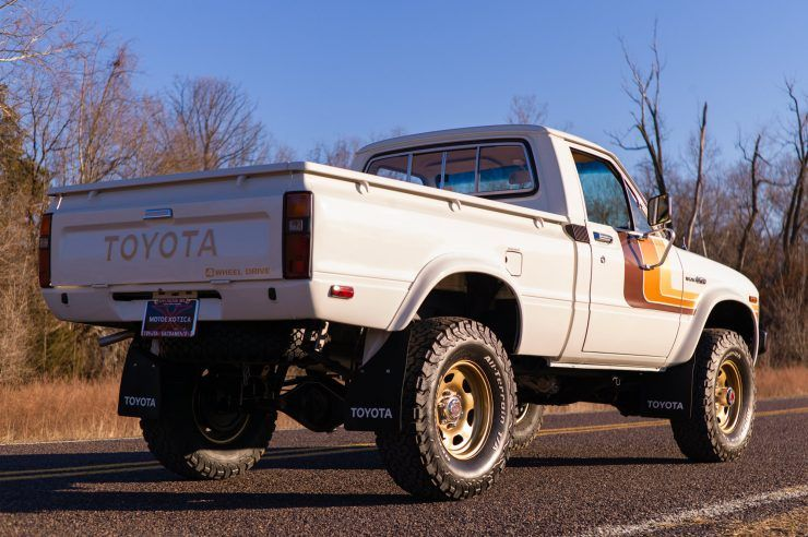 The Best Hilux For Sale In America Right Now 1981 Toyota Hilux Sr5 Pickup Truck
