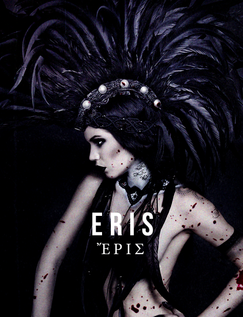 Eris.... Greek God of Chaos and Discord. Eris was the ...