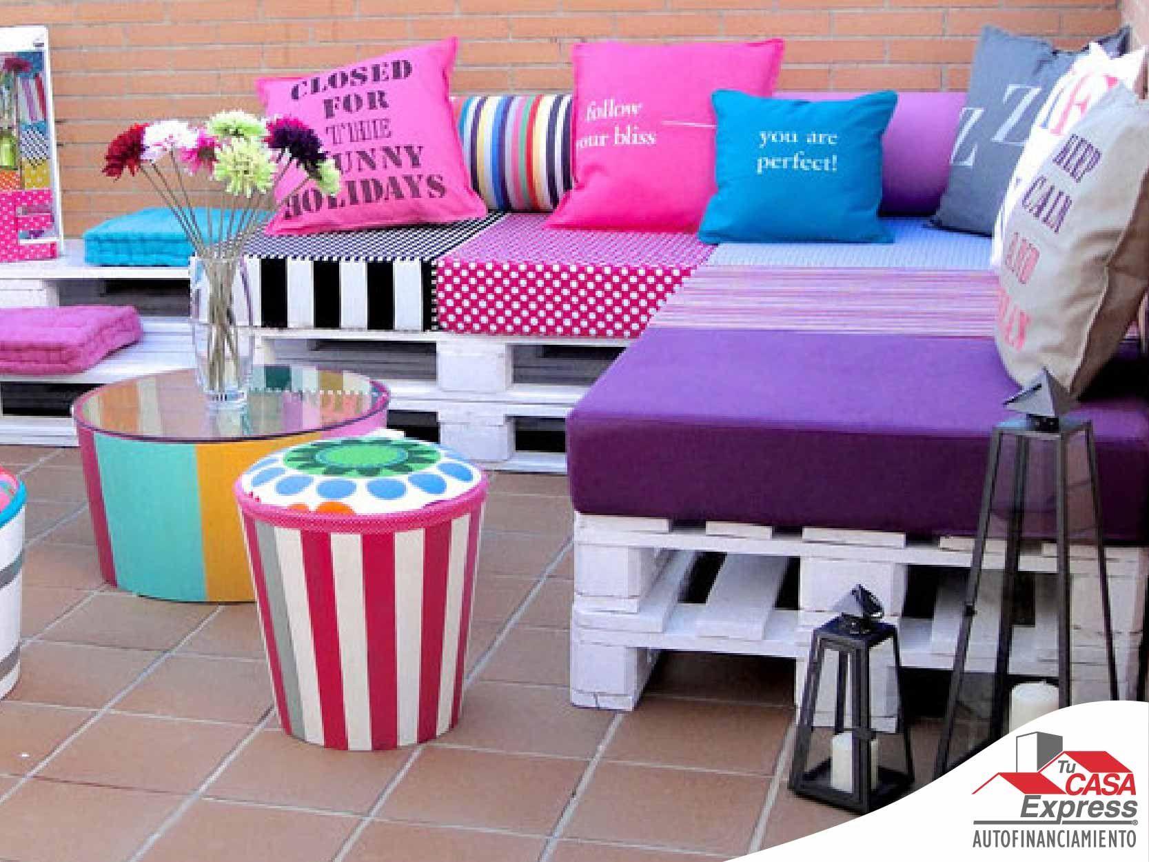 Muebles para exterior llenos de color. | Fafa\'s | Pinterest ...