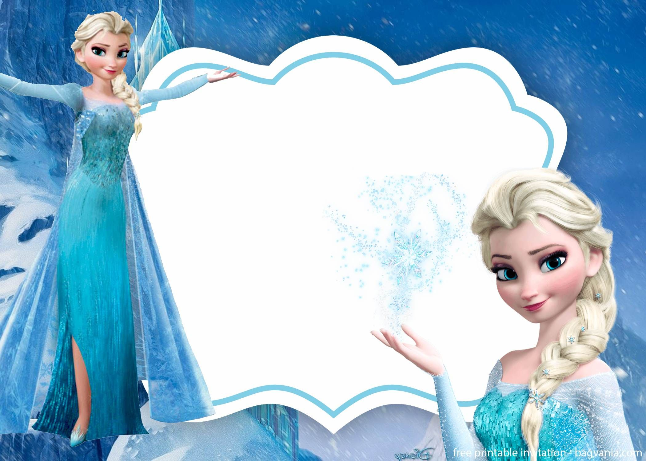 Free Frozen Invitation Template Printable Free Frozen Invitations Frozen Invitations Frozen Birthday Invitations