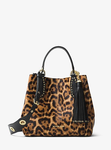 0f1e015837db Brooklyn Medium Leopard Calf Hair Tote