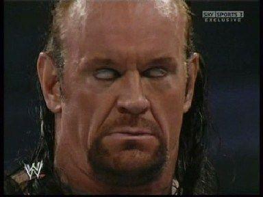 The Undertaker White Eyes