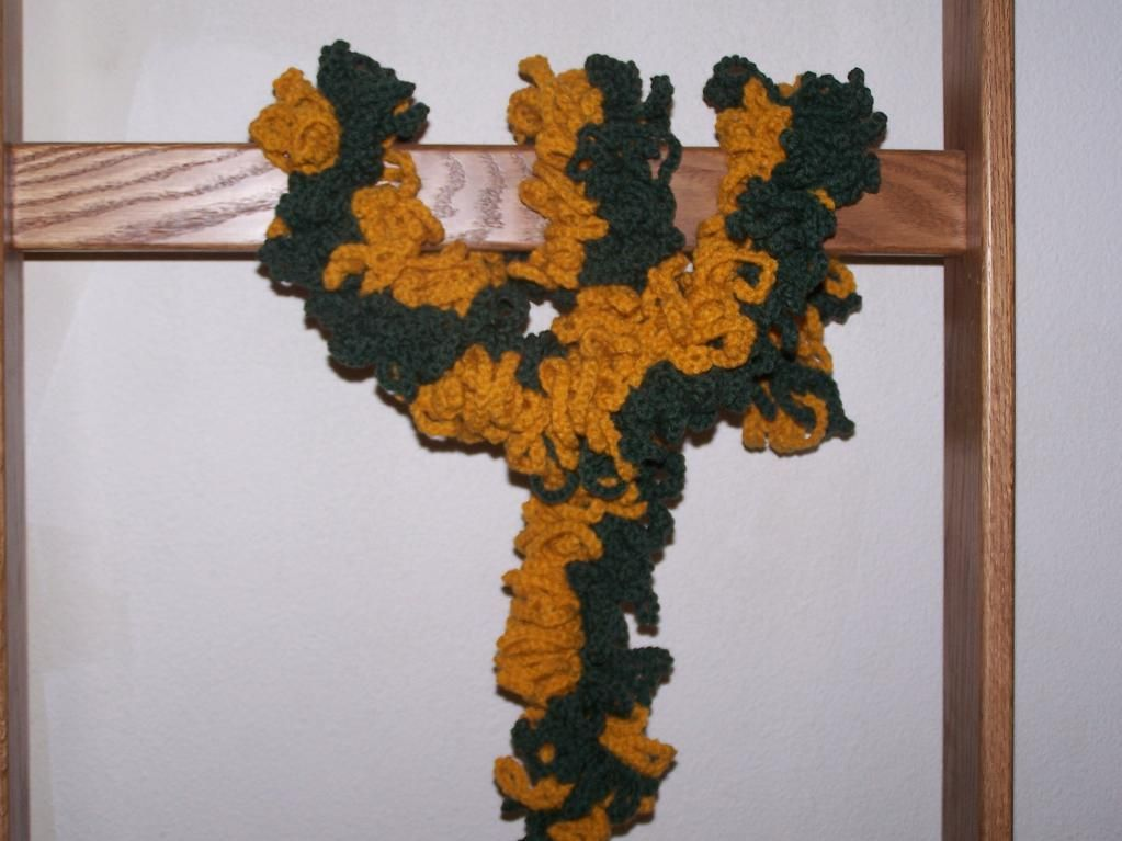 Football Fringes Scarf