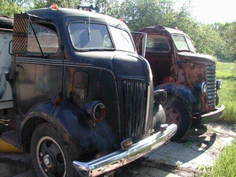 Vintage Trucks Wisconsin Barn Find Cab Over Engine For