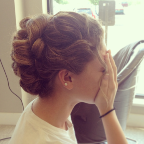 Fabulous updo ive been loving low buns and this is kind of like which prom updo hairstyle have you been dreaming of we have collected 25 best prom updo hairstyles for long hair you may consider for your prom pmusecretfo Choice Image