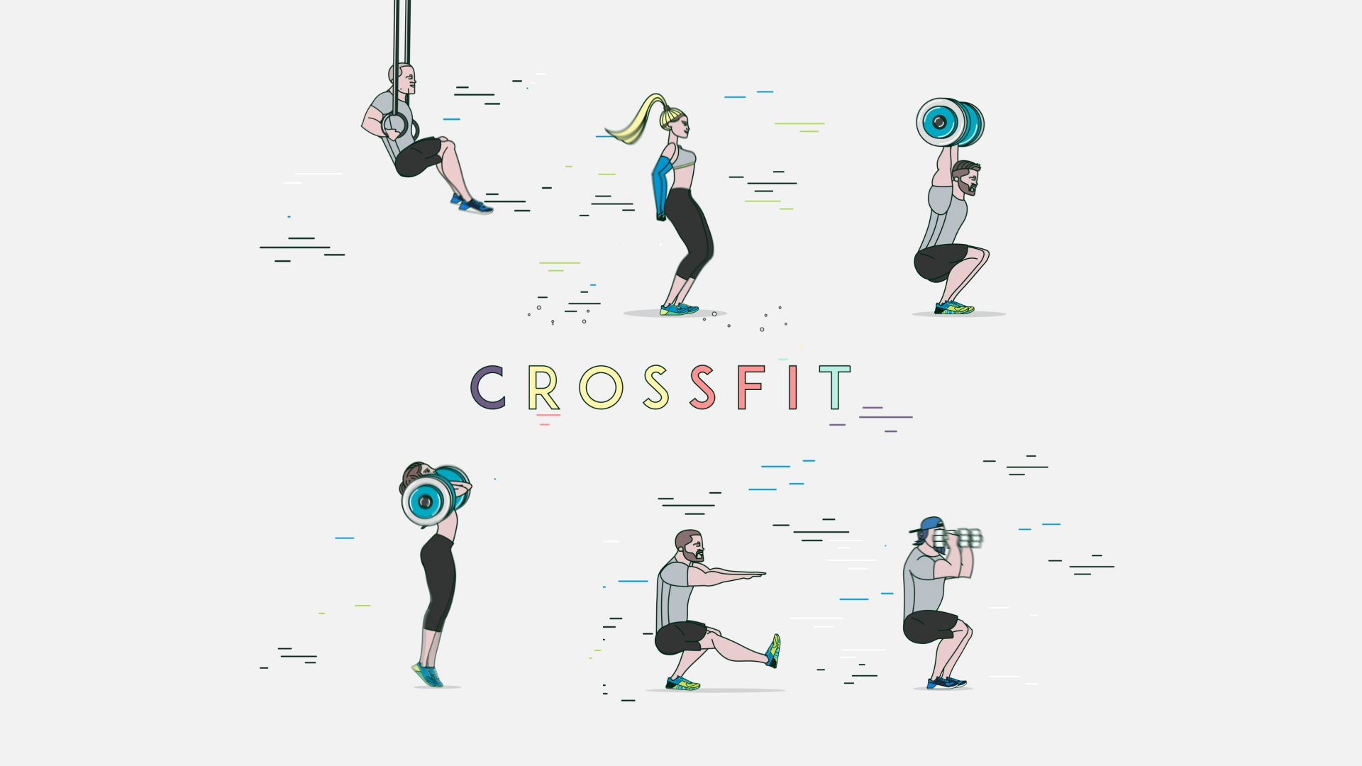 "다음 @Behance 프로젝트 확인: ""CrossFit GIFS"" https://www.behance.net/gallery/44324263/CrossFit-GIFS"
