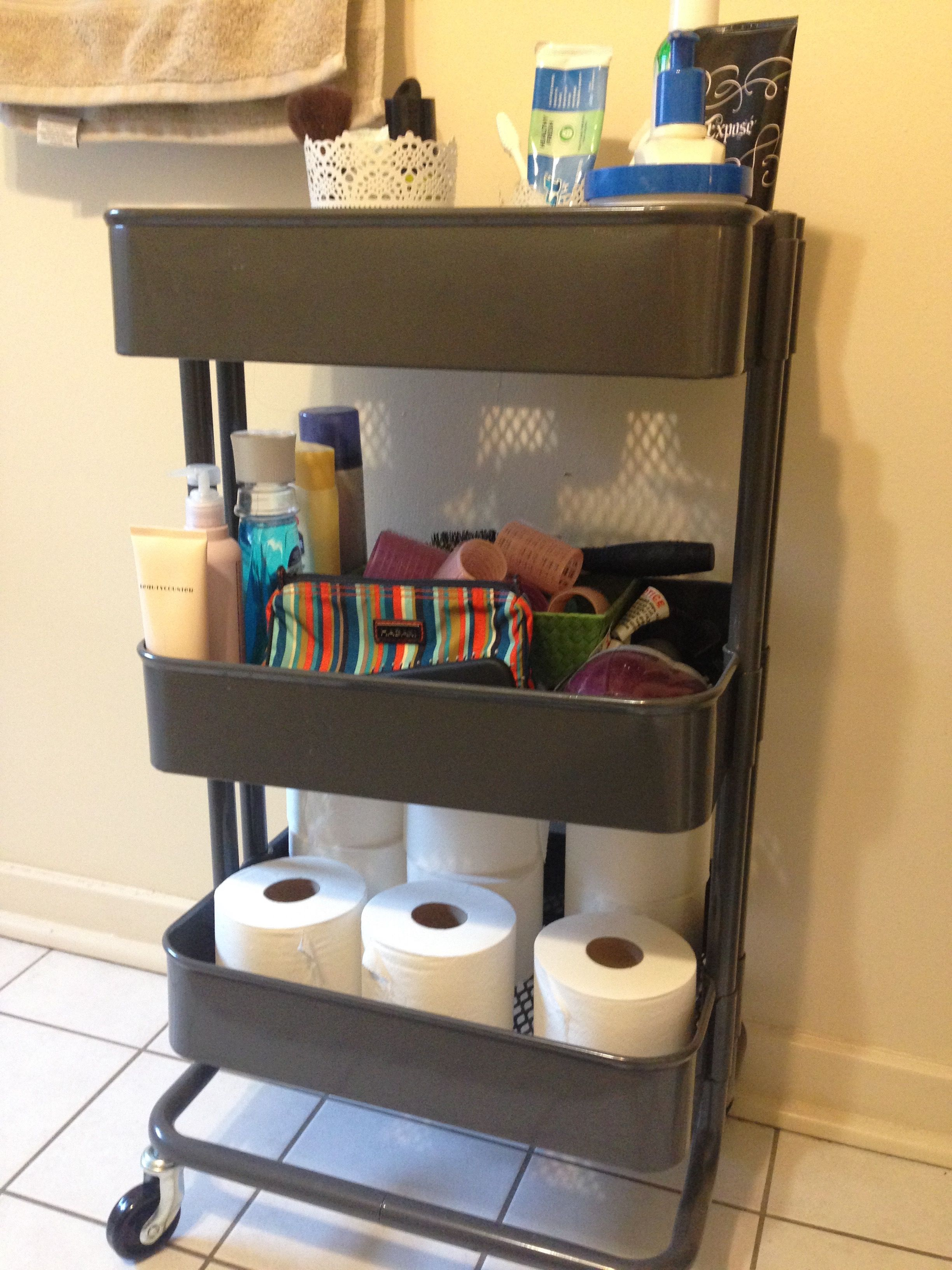 Ikea Raskog Cart For The Bathroom In 2019 Bathroom Cart
