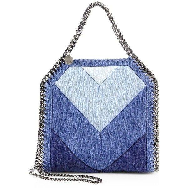 Stella McCartney Baby Bella Denim Shoulder Bag ( 1 8ed97a5fb05d9