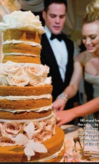 Hilary Duff | Wedding cake | Pinterest | Hilary duff, Wedding cake ...
