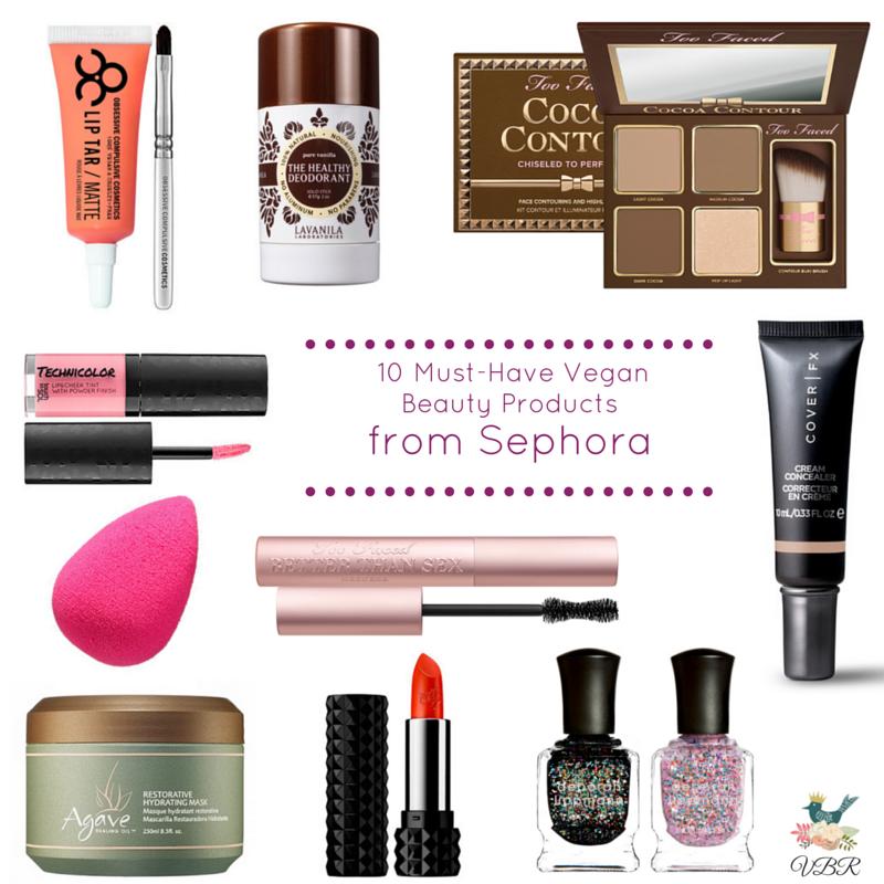 vegan & crueltyfree beauty products at sephora Vegan