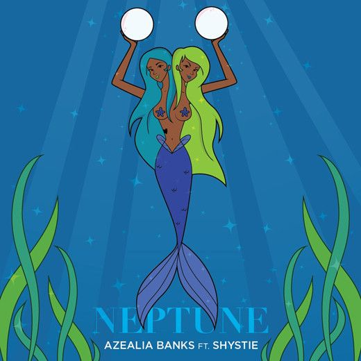 "Tomorrow the 11th of July Azealia Banks will drop her highly anticipated mixtape ""Fantasea"" and here goes the last taste off the release; 'Neptune' featuring none other than Chanelle Scott Calica a.k.a Shystie!    Listen below:    Azealia Banks ft. Shystie – 'Neptune'"