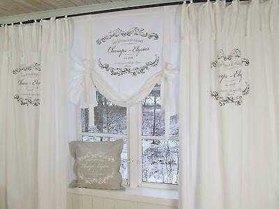 LillaBelle ELEGANCE Schlaufen Vorhang 120x240 2 Stück weiß